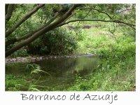 Senderismo en el Barranco de Azuaje