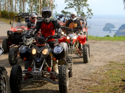Two-seater Quad route in Bakio 1 hour