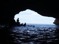 Entrance of the sea cave