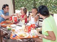 Menus en la cafeteria