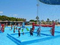 Zona de deportes en el agua