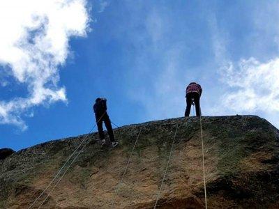 Sesión de escalada de media jornada zona Huerta