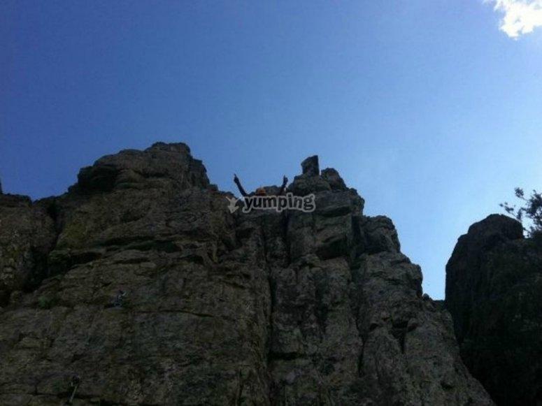 Asciende a las alturas