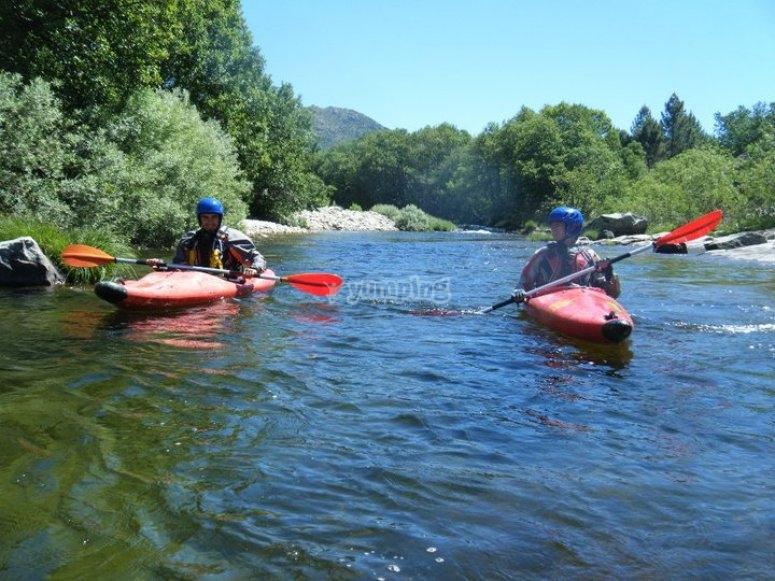 Canoeing in Salamanca