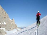 Salida de esquí de montaña