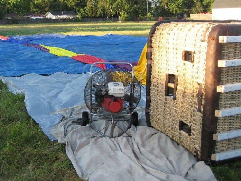 气球飞行组装
