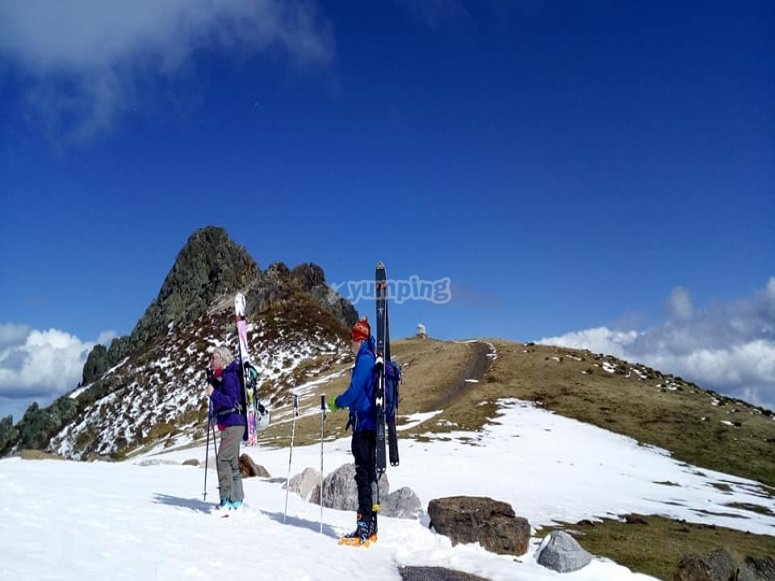 Mountain ski in Cantabria