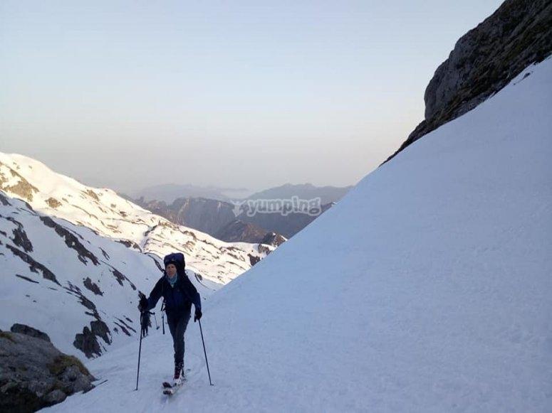 Ascending the Picos de Europa