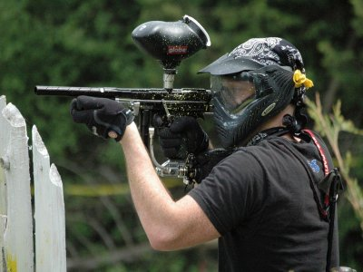Soft Paintball 100 balls in Zarra or Cofrentes