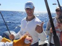 在Altamar钓鱼