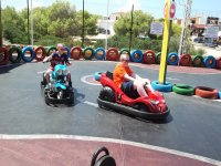 On the go-karting
