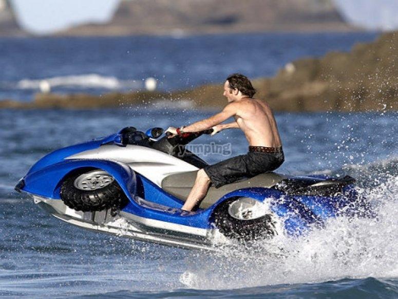 水上摩托车游览
