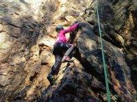 在安达卢西亚攀登