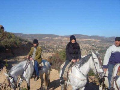 Ruta a caballo en el Valle de Lecrín,4h