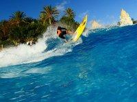 Surfeando la gran ola