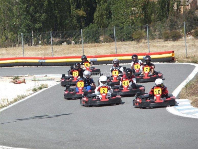 Karting a Fuente del Fresno