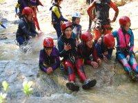 Canyoning team