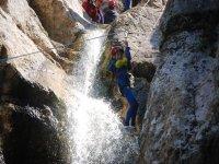 Pulling down the ravine