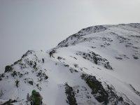 登山--999-穿着雪鞋的难以置信的景色