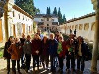 De tour en la Alhambra