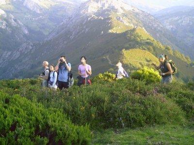 徒步前往PeñaMea,在阿斯图里亚斯(Asturias)徒步5小时