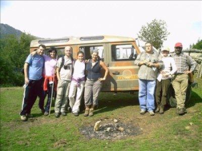 徒步La Cascada del Taballon de Mongallo 5h