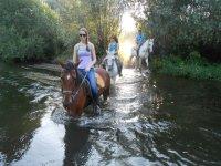 Accesso ai Tormes con i cavalli