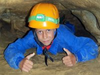 Caving with children