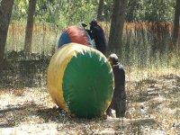 Partida de paintball en Castejon