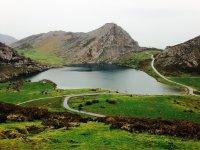 Trekking a Covadonga