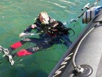 潜水后潜入普伦蒂亚