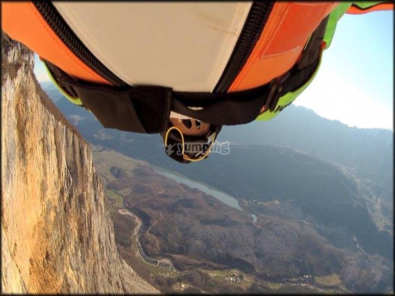 Richi Navarro en vuelo