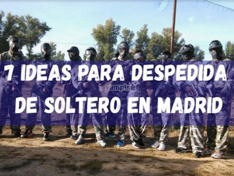 7 ideas para despedida de soltero en Madrid