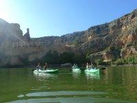 Piragüismo en el rio