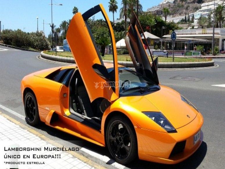 Conducir un Lamborghini Murciélago