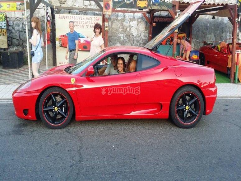 Ferrari en Gran Canaria