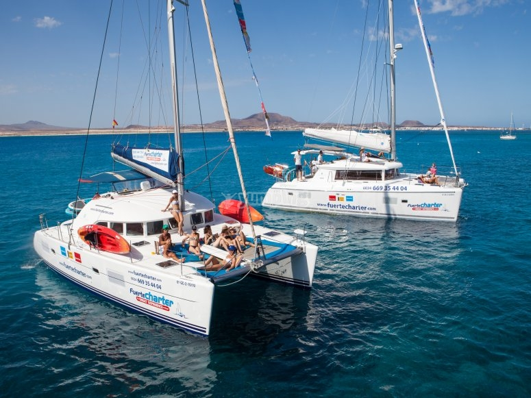 Flota catamaranes