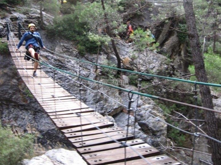 在Rio Verde上的大桥