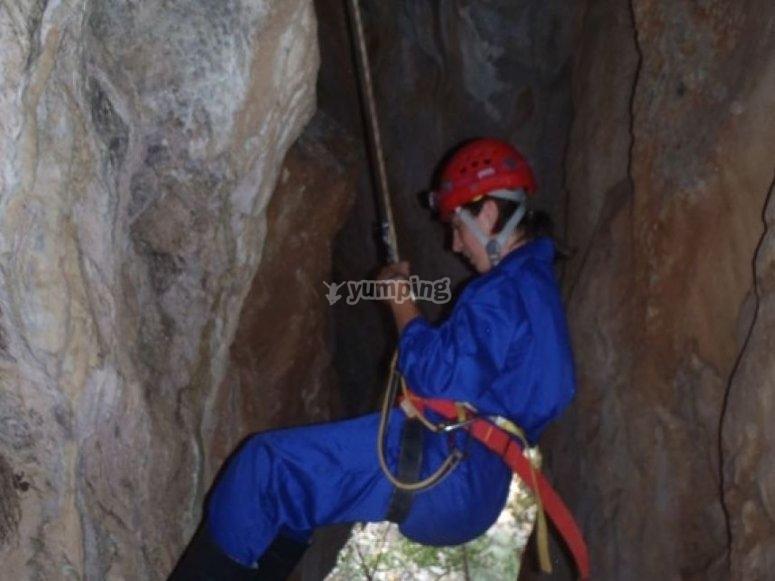 Visita a cueva
