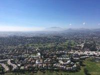 Nueva Andalucia desde el helicoptero