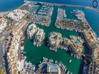 Puerto Marina desde el aire