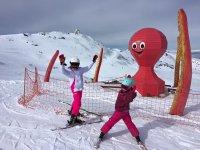 Clases de esqui para niños