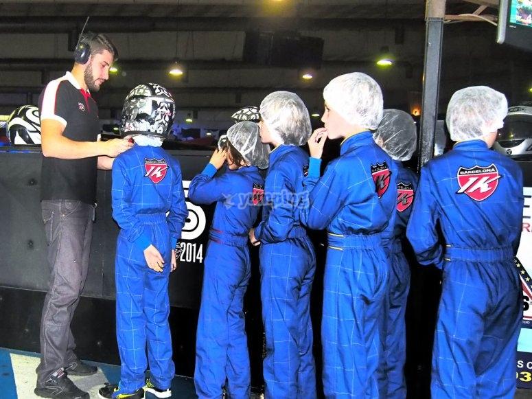 Istruzioni per i giovani piloti