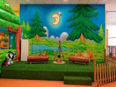 Parque infantil indios, mañana entera S, D y F