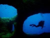 Buceando en Menorca
