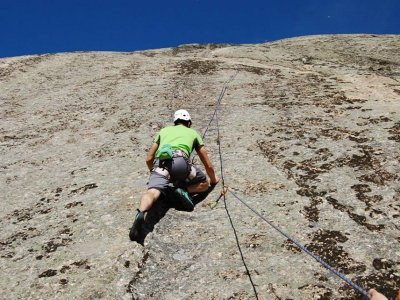 Rock Climbing Baptism in Ávila
