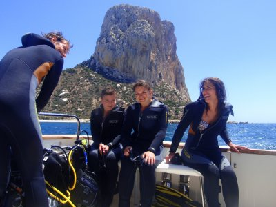 Diving courses for any level in Calp