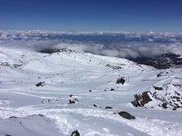 Pista para hacer Snowboard en Sierra Nevada