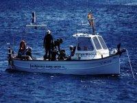 整个团队的潜水之旅潜水船