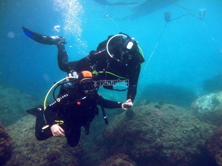 Buceo en las Islas Medas